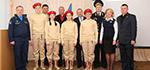 Юнармейцы из Гатчины приняли участие во всероссийской акции в Кубинке